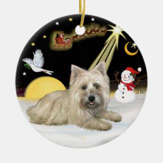 Mojón Terrier de NightFlight- Ornamentos De Navidad