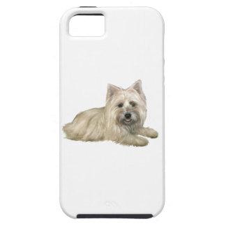 Mojón Terrier de trigo - acostándose iPhone 5 Case-Mate Coberturas