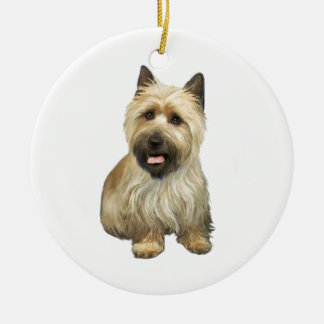 Mojón Terrier - de trigo con la máscara negra #2 Ornamentos Para Reyes Magos