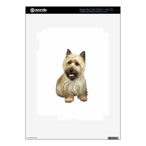 Mojón Terrier - de trigo con la máscara negra #2 iPad 3 Skins