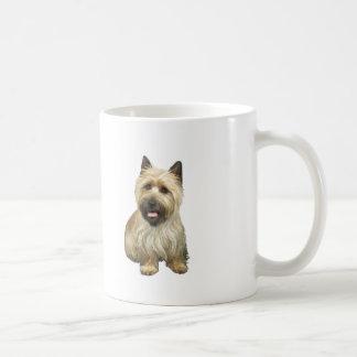Mojón Terrier - de trigo con la máscara negra #2 Tazas De Café