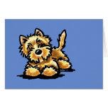 Mojón Terrier de trigo Tarjeton