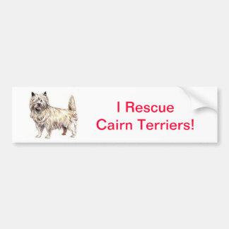 Mojón Terrier Pegatina Para Auto