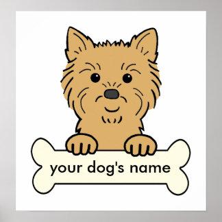 Mojón Terrier personalizado Impresiones