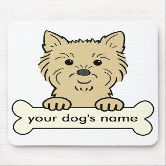 Mojón Terrier personalizado Alfombrilla De Ratón