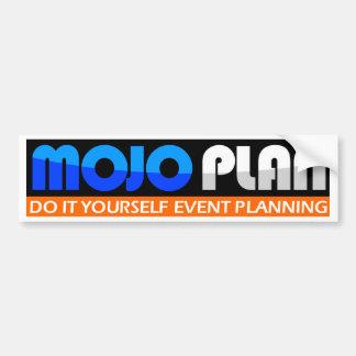MOJOPLAN - Hágalo usted mismo planeamiento del aco Pegatina Para Auto