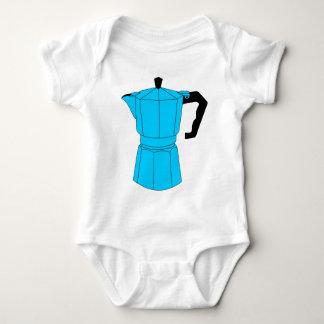 Moka Espresso Coffee Pot Baby Bodysuit