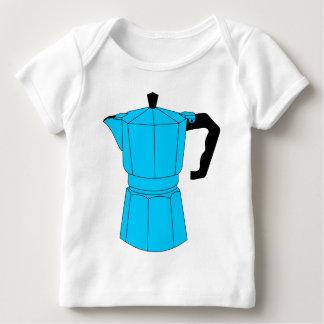 Moka Espresso Coffee Pot Baby T-Shirt