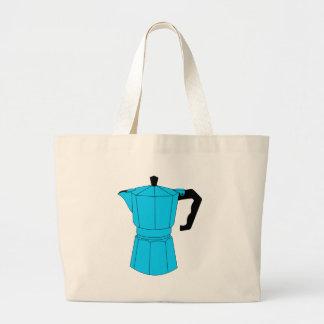 Moka Espresso Coffee Pot Canvas Bag