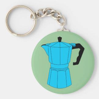 Moka Espresso Coffee Pot Keychain
