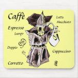 Moka Mousepad - Italian Coffee Art