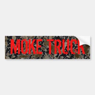 Moke Truck sticker Car Bumper Sticker