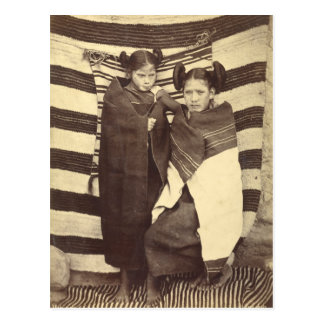 Moki Girls, 1879 Postcard