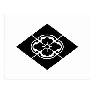 Mokko en Rhombus Tarjeta Postal