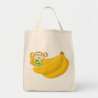 Mokko's Big Bunch Organic Grocery Canvas Bag