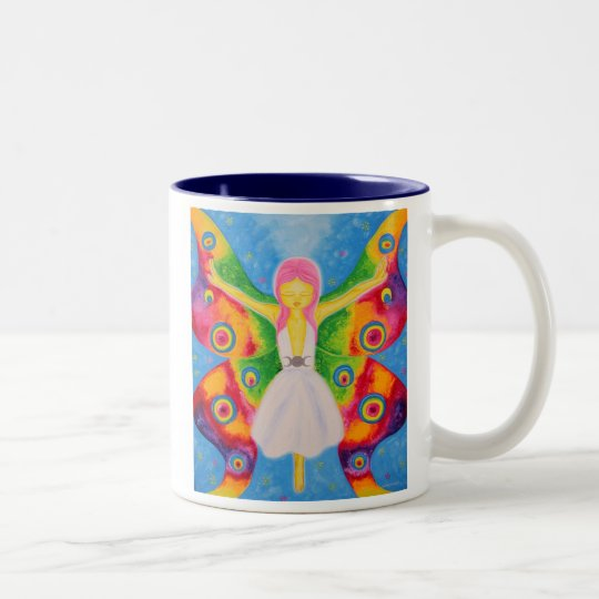 Moksha Two-Tone Coffee Mug