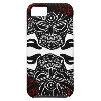 Moku Hanga black face red enso iPhone SE/5/5s Case