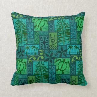 Moku Malihini blue Pillow
