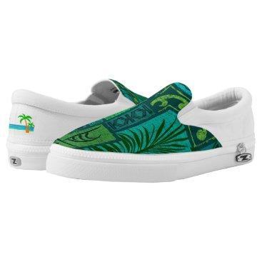 Beach Themed Moku Malihini Slip-On Sneakers