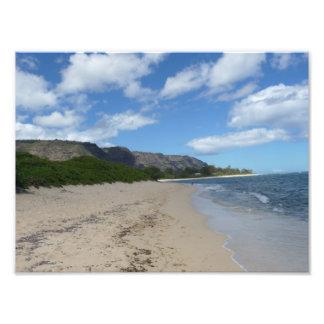 Mokuleia Beach Oahu Hawaii Photo Print Lost