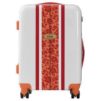 Mokuleia Hawaiian Hibiscus Monogram Surfboard Luggage