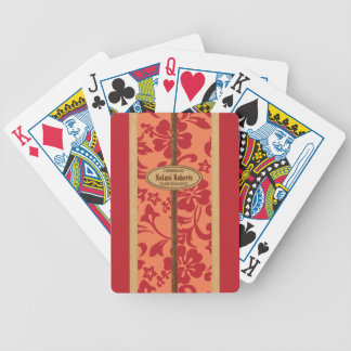 Mokuleia Surfboard Customizable Playing Cards