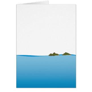 Mokulua Islands Illustration Card