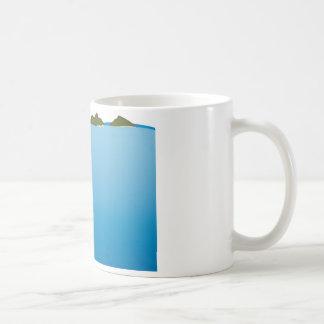 Mokulua Islands Illustration Coffee Mug