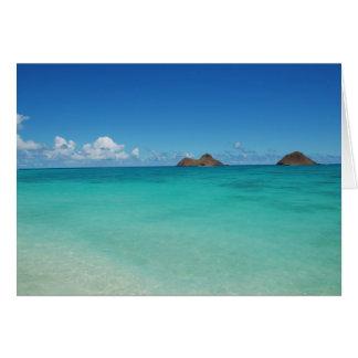 Mokulua Islands, O'ahu Card