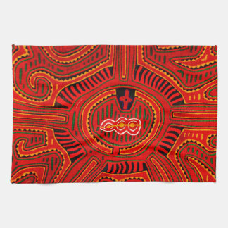Mola Design by San Blas Indians Hand Towels