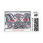 Mola Love Birds Postage