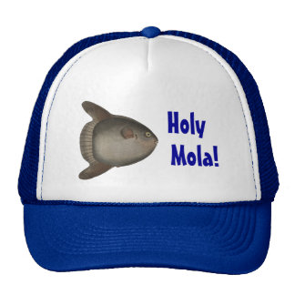¡Mola santo! Casquillo profundo de la pesca en mar Gorro