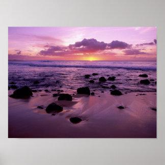 Molaki Sunset Poster