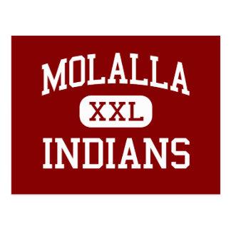 Molalla - indios - escuela secundaria - Molalla Or Postal