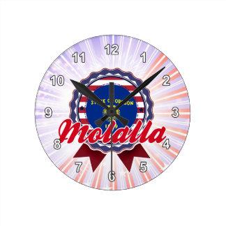 Molalla O Reloj De Pared
