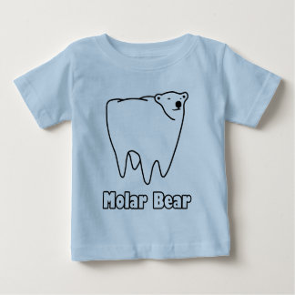Molar Bear Polar Tooth Bear Baby T-Shirt