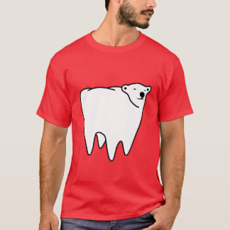 Molar Bear Polar Tooth Bear T-Shirt