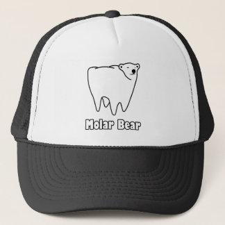 Molar Bear Polar Tooth Bear Trucker Hat
