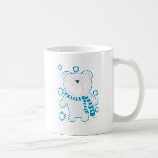 Molar Bear with Scarf Coffee Mug