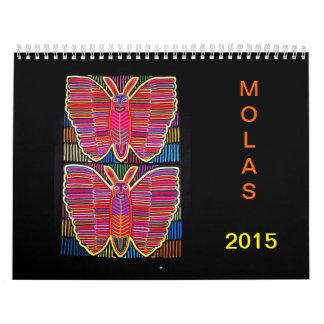 MOLAS: 2015 CALENDARIOS DE PARED