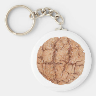Molasses Cookie Button Keychain