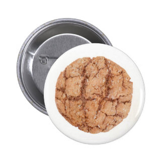 Molasses Cookie Round Button