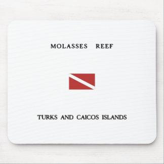 Molasses Reef Turks and Caicos Islands Scuba Dive Mouse Pad