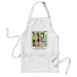 Mold Remover as a Skin Care Product Adult Apron