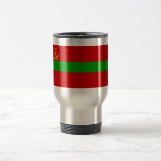 Moldavian SSR Flag 15 Oz Stainless Steel Travel Mug