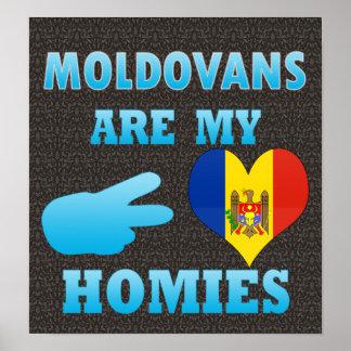 Moldavos son mi Homies Póster