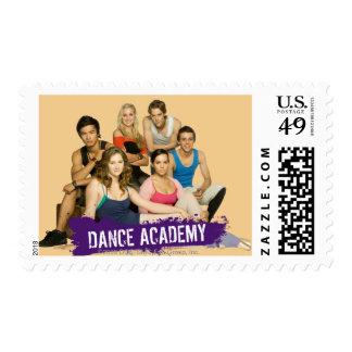 Molde de la academia de la danza sellos