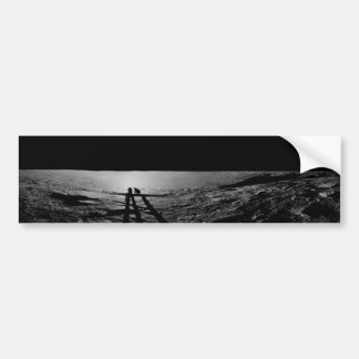 Molde de la sombra de los astronautas de Apolo 12 Pegatina Para Auto