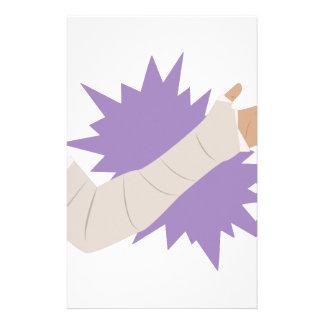 Molde del brazo papeleria personalizada