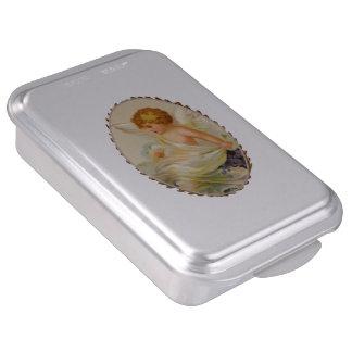 Molde para pasteles del niño del ángel